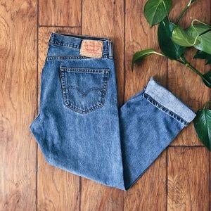LEVI'S • denim jeans